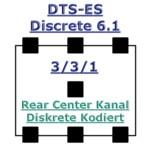 Tonformate - DTS-ES Discrete 6.1