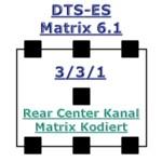 Tonformate - DTS-ES Matrix 6.1