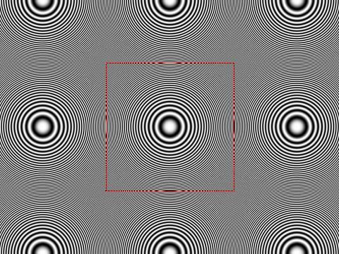 Testbild Zonenplatte